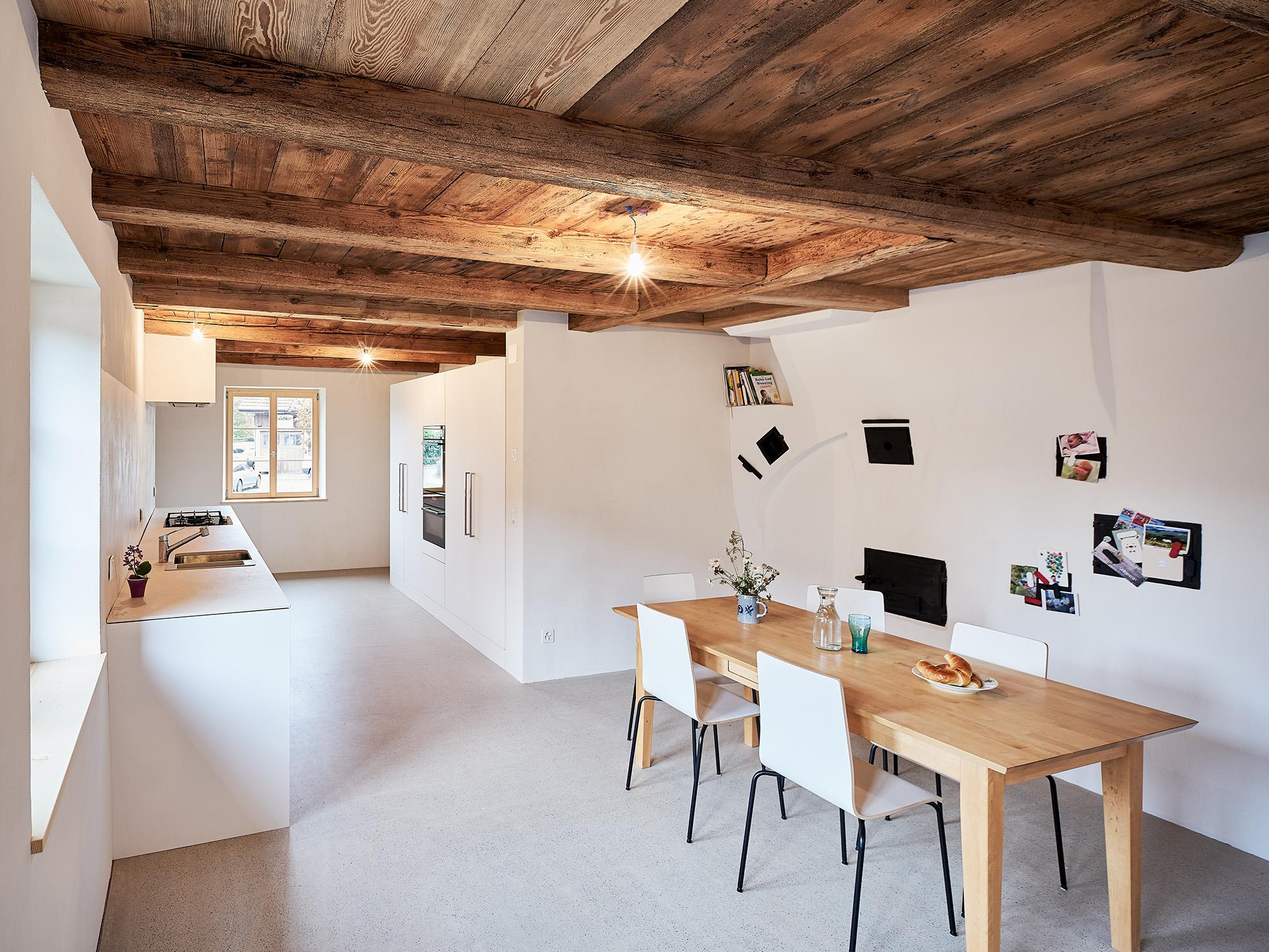 Umbau Bauernhaus Werdstrasse, Winterthur –